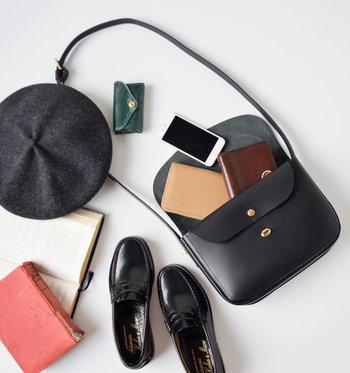 この春からの新しいバッグをお探しなら、クラシカルやカジュアルスタイルにも合わせやすい、『上質バッグ』に変えてみませんか?見た目以上に収納力もたっぷりで、お仕事用としても使えますよ。