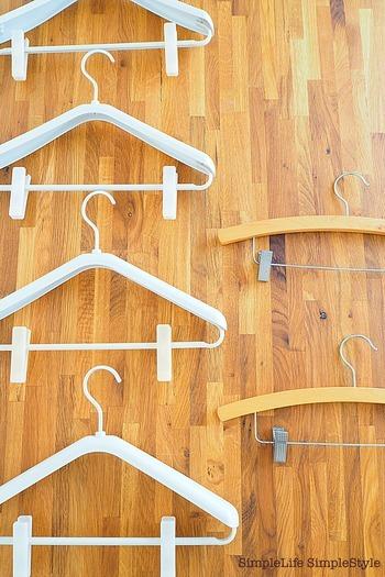 間違ったハンガーを選ぶとシワや型くずれが起こります。せっかく大切な衣類のために使うのに、知識がないせいで逆効果になったら悲しいですよね。