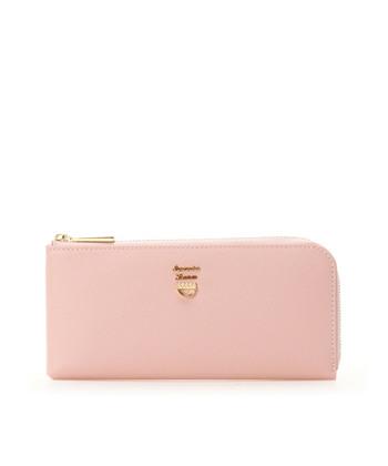 「楽しく素敵に女性のライフスタイルを演出」することをコンセプトとした「サマンサタバサ」。色鮮やかなアイテムが豊富です。気分をアップさせる春らしいピンクのお財布は、眺めているだけで幸運を引き寄せてくれそう♪風水的にも、恋愛に限らず、人との出会いを通じて金運が高まる色とされています。