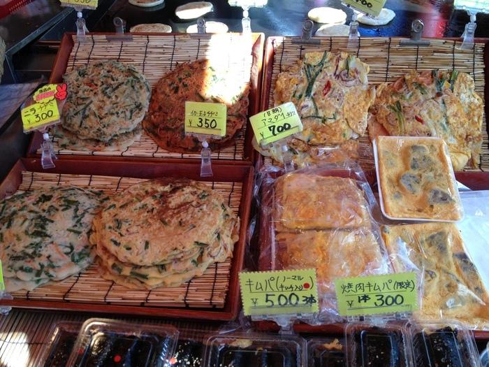 チヂミの種類も豊富で選ぶのが楽しい♪韓国ではおやつとしても食べられるなど老若男女に愛されているチヂミをぜひご賞味あれ。