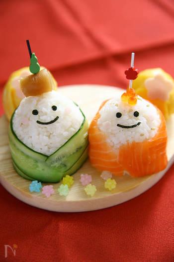 とってもかわいいおひなさまの手まり寿司レシピ♪愛らしい表情は海苔とハムでできています。お子様と一緒に作っても楽しめるレシピですよね。味わうだけでなく、作るプロセスから楽しむ手作りのひなまつりをぜひ!