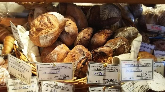 2019年1月現在、松本市内では、食べログで2位の人気。サンドイッチやデニッシュ、調理パンにベーグル、メロンパンにカレーパン…。パンのすべてを網羅する品揃えも魅力♪