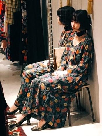 いつものお店のお洋服もかわいいけれど、もう少し自分の個性を出したい…。そんなときに活躍してくれるのが『古着アイテム』たち。