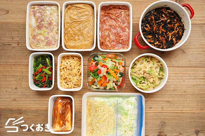 忙しい朝も楽らく♪お弁当作りの強い味方「作り置きレシピ」を活用しよう