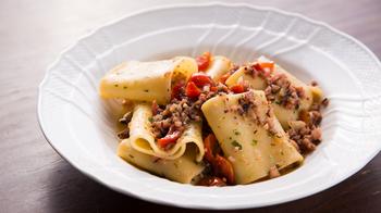 ランチの「イタリアンコース」は、サラダ、スペシャルパスタ、デザート&コーヒーのセット。パスタのアラカルトや、豪華なコースなどメニューも豊富です。
