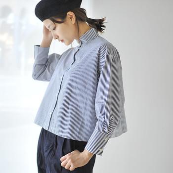 デザインやシルエット。カラー選びで、ガラリと印象を変えることができるシャツは、トレンドに左右されずデイリーなコーデを楽しめます。