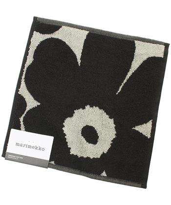 フィンランドのファブリックブランド「marimekko(マリメッコ)」。その中でも人気の柄ウニッコのミニタオルは、デイリーユースにぴったり。センスが光る贈り物をしたい時に選びたいですね。