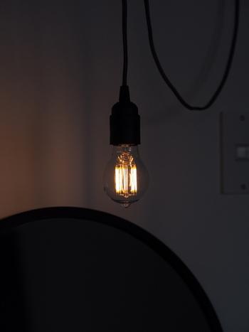 日本でも進められている取り組みのひとつとして、電気のLED化があります。電球が切れたタイミングなどで、すこしずつおうちの白熱球をLEDに変えていくといいですね。