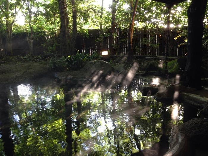 しっとりと落ち着いた観光なら、温泉はいかがでしょう?阿蘇温泉郷のなかで一番おすすめなのが「内牧温泉」。なんと夏目漱石や与謝野晶子などの多くの文豪が訪れたことで知られる温泉地なんです。阿蘇山の麓にあり、約80の源泉が広範囲に点在しています。熊本の温泉といえば黒川温泉ですが、ここは穴場のスポットです。
