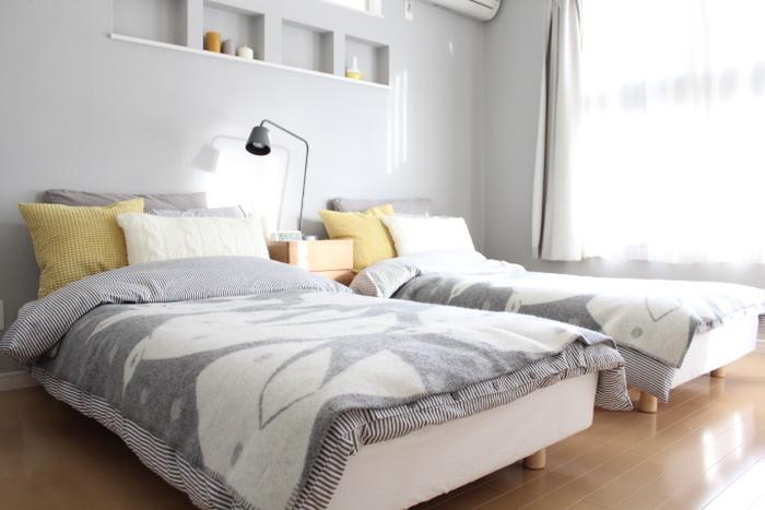 大型家具の中でも、チェック項目が多いのがベッド。質の高い睡眠をとるためにも、マットレスの硬さやサイズにもこだわりたいですね。