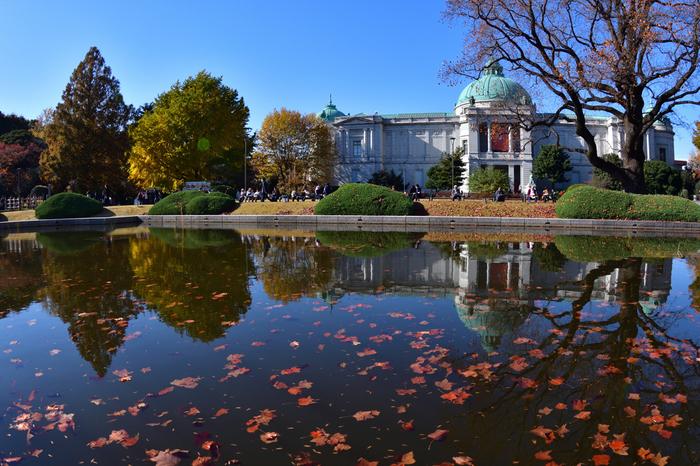 最後にご紹介するのは、上野恩賜公園。JR各線、地下鉄東京メトロ線上野駅から徒歩約2分、京成本線・京成上野駅から徒歩約1分と、大変便利な場所にあります。広大な敷地内には博物館や動物園、美術館が建ち、文化の発信地として多くの人に親しまれています。各施設をめぐったり、豊かな自然をゆっくり眺めたりと、さまざまな楽しみ方ができる公園です。