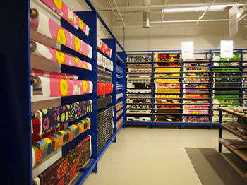 """フィンランド・ヘルシンキ郊外にある「marimekkoアウトレット」は、""""marimekko好き""""にはたまらない空間。製品が日本の半額で購入できたり、おしゃれな社員食堂「マリトリ」で食事ができたりします。"""