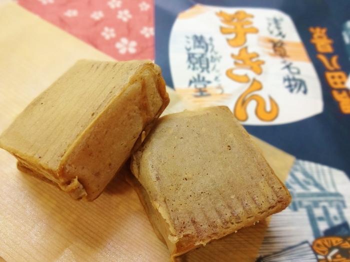 【「大丸東京店」でも焼き立てが購入可能な、浅草「満願堂」の名物『芋きん』】