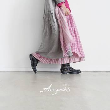 いかがだったでしょうか?春の優しい風にふんわり揺れるロングスカート。大人だからこそ素材感を大切にして色で遊んだり同系色でまとめたりと春のおしゃれを楽しんでみてくださいね。
