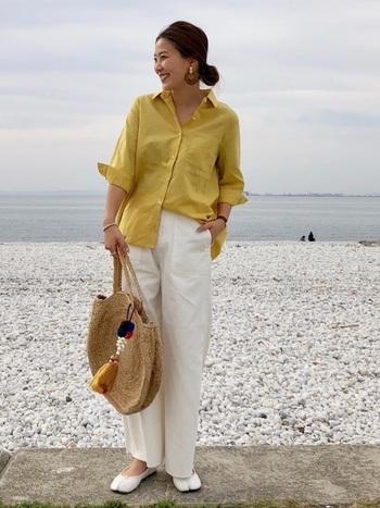 世界中で愛されているカジュアルブランド、「ZARA」のおしゃれなかごバッグ。シンプルで大人っぽいデザインが日本でも大人気です。スタイリッシュなZARAのかごバッグは、シャツ×パンツのマニッシュなスタイルとも相性抜群。デイリースタイルのスパイスに、さっそく取り入れてみませんか?
