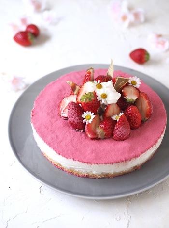 ピンク・イエロー・若草色…やさしいカラーで季節を呼び込む♪「春色スイーツ」レシピ