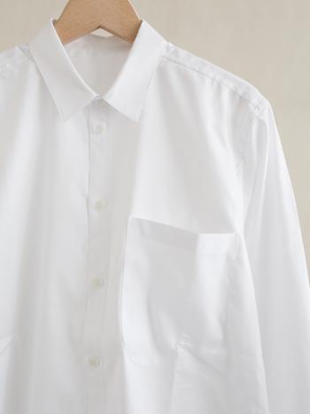 """白シャツの汚れにサヨウナラ。お気に入りを""""まっしろ""""に保つ『お手入れ方法』をおさらい"""