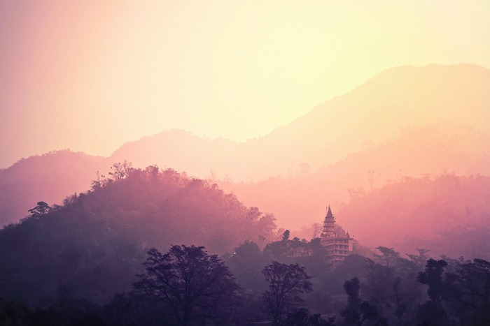 ヨガの起源は正確にはわかっていないそうですが、今から約4500年前、インダス文明のもとヨガの瞑想法が行われていたと言われています。当時は座禅を組むスタイルが中心で宗教的な意味も強かったとか。 その後、時代を越えて受け継がれ、今では宗教ではなく健康法の1として一般に親しまれています。