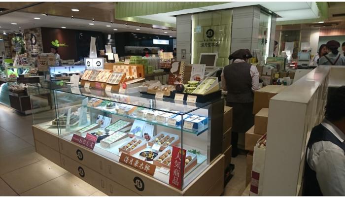 木挽町(銀座7丁目)に本店を構える「清月堂」は、明治40年創業、百余年の歴史を数える老舗和菓子店です。