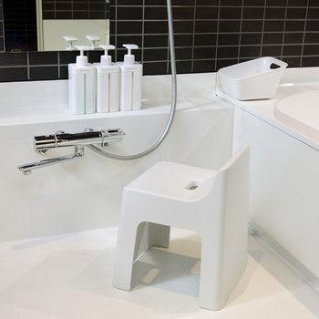 """バスルームがおしゃれにキレイに片付く。""""シンプル&スタイリッシュ""""な<バスグッズ>"""