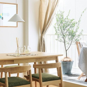 まずはおうちの中からチェンジしてみましょう! お部屋のファブリックや小物を春を思わせる淡色アイテムに変えるだけで、おうちにいながら簡単に春気分は味わうことができますよ。
