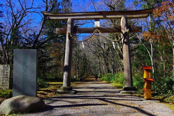 アクセスの紹介でも書きましたが、春〜秋は長野駅から車で50分ほどの距離にある戸隠神社の奥社からスタートすると九頭龍社→中社→火之御子社→宝光社と、スムーズに移動できます。