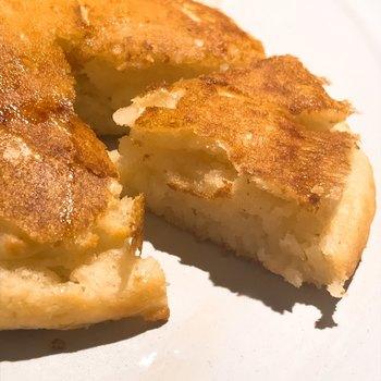 また、小麦粉を使わないグルテンフリーのパンケーキも期間限定で食べることができるんだそう!季節の美味しいフルーツと一緒にいただきましょう♪