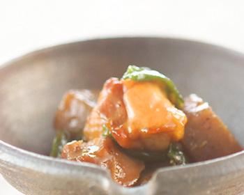 煮詰めることで、こっくりとして味も凝縮◎ご飯がすすむ、甘辛味の炒めものです。お弁当のおかずとしても重宝します。