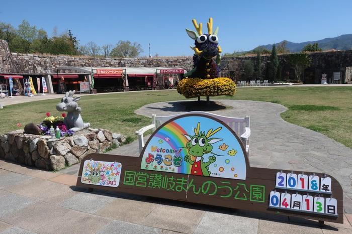国営讃岐まんのう公園(こくえいさぬきまんのうこうえん)は、香川県仲多度郡まんのう町にある四国で唯一の国営公園です。季節ごとに、スイセンやチューリップ、コスモスなどのお花が四国最大級の規模で楽しめます。またその他に園内では、自然生態観察園、体験施設、オートキャンプ場などもあって、家族みんなで楽しい思い出作りができる施設になります。