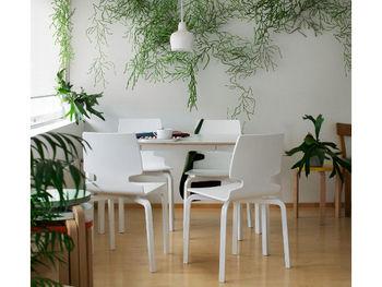 皆さんのお部屋にはお花や観葉植物はありますか?生活必需品ではありませんが、お部屋にあるだけで雰囲気がぱっと明るくなりますよ。また、シンプルな北欧インテリアにはグリーンがよく映えてアクセントとして活躍してくれます。