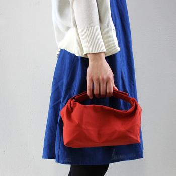 バッグとしてもシンプルで可愛いデザインなので、お弁当だけでなくバックインバックや普段使いにも◎