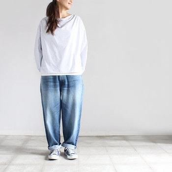 どのデザインを、どう穿きこなす?種類別『デニムパンツ』お手本コーデ(春夏編)