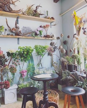 春を探しに♪お花や植物に出会える、都内の素敵『フラワーカフェ』に出かけませんか?