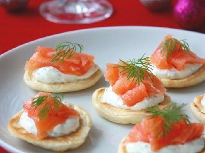 フロマージュブランをサワークリームに替えると、よりロシア料理の雰囲気を味わえます。