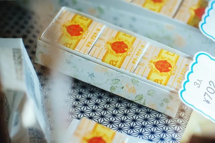 かわいらしい化粧箱を使った丁寧な梱包も、人気の理由のひとつです