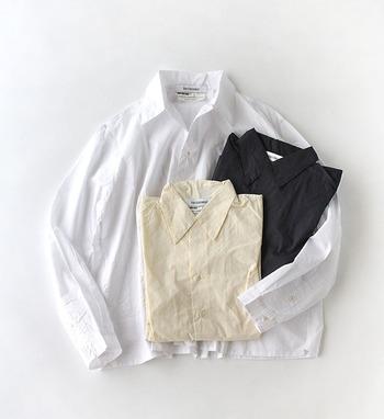 ベーシックで着回しが効くシャツは、季節を問わず、色んな場面で使える万能アイテム。とはいえ、やっぱり、シャツのおしゃれを存分に楽しめるのは春!お気に入りのシャツを見つけたら、フル回転させて、色んなアレンジで試してみて。
