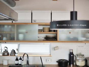 最近のキッチンで多く見られるのが、キッチンカウンターをはさんでダイニングと繋がる「オープンタイプ」。  調理する人と家族が自然にコミュニケーションをとりやすいキッチンです。