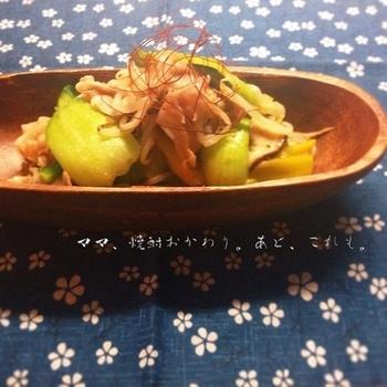 白味噌を使ったごま味噌だれが味の決め手の野菜炒め。冷蔵庫に残った野菜も、繊細で上品な味わいの一品に仕上がります。