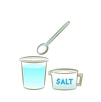 鼻に水が入ると痛い…というイメージがありますが、体液と同じ浸透圧の食塩水なら大丈夫。0.9%の食塩水を体温と同じ36~38℃程度にあたためて使用します。