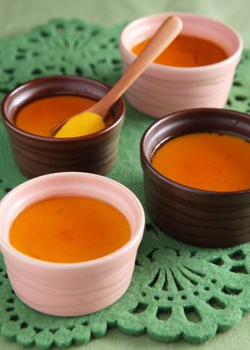 余った野菜はご飯のおかずだけでなく、お菓子にも大活躍してくれます。すりつぶしたかぼちゃを使ったブリュレは、かぼちゃの優しい風味が引き立つ一品です。一度食べると何度もリピートしたくなります。