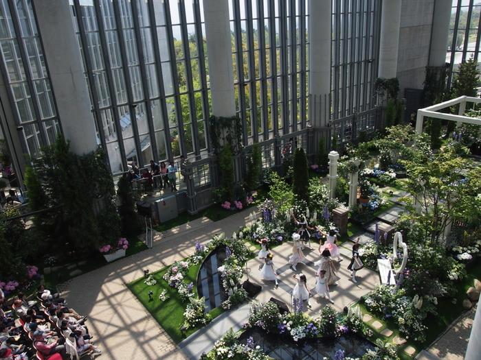 淡路夢舞台温室「奇跡の星の植物館」はお出かけが雨の日でも大丈夫です!1年中あたたかな室内で色とりどりの植物を鑑賞できます。季節によって展示が変わり、またイベントが行われる日もあるので、何度行っても楽しめる場所です。