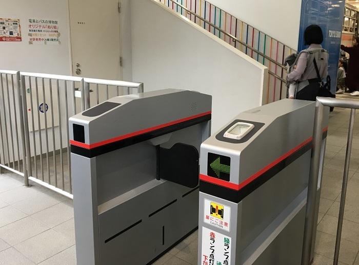 東急田園都市線宮崎台駅直結の、東急電鉄の電車やバスをテーマにした博物館。入口で切符を買って、自動改札に入れるユニークなエントランス。わくわく気分が高まりますね。