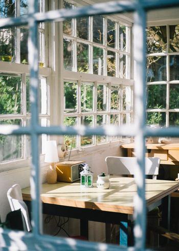 ぽかぽかと日向ぼっこを室内でも楽しみたい方は、カーテンやブラインドを全開にして、窓から入る光を存分に楽しむのも1つの方法です。短時間であっても、まるで屋外にいるかのような清々しい気持ちになれるでしょう。花粉症の方は外出がつらい時期なのでこの方法はおすすめです。