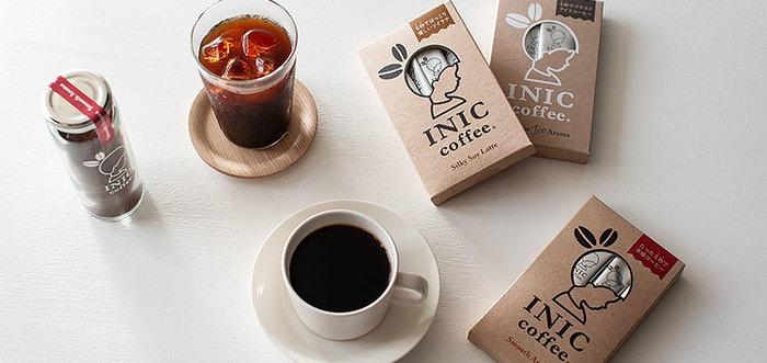 「たった5秒で本格的な味と香りが楽しめる」ことが売りの「INIC coffee〔イニック・コーヒー〕」。