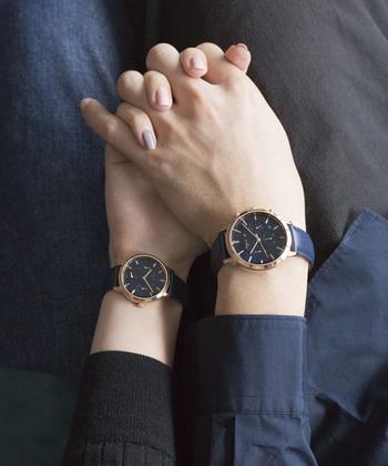 ロングセラーのSAM(サム)シリーズをモダンにアップデートした洗練されたペアモデルです。飽きのこないシンプルなフォルムに、時計本来の機能性を重視した、見やすい文字盤。アニエスらしい、こだわりが詰まった腕時計です。