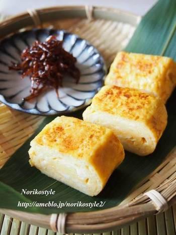 甘酒の甘さで作る、優しい味わいの玉子焼き。お弁当はもちろん、あともう一品というときにぴったりなレシピです。