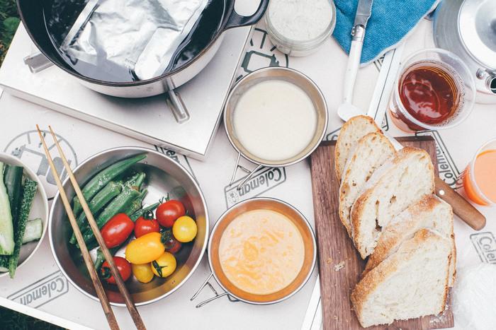 有機野菜とつぶつぶの食感が楽しる玄米が入った体に優しいスープです。まだ春先のちょっぴり肌寒いお外お弁当の、お供に連れて行くと◎。