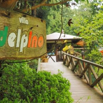 東京にある唯一の村、檜原村にある「Villa delpino(ヴィッラ・デルピーノ)」は、森に囲まれたイタリアンレストランです。