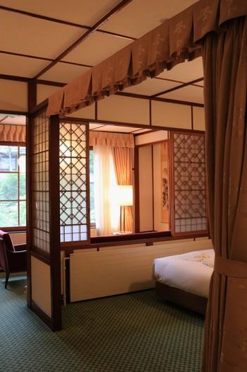もちろん客室も歴史を感じる上質な空間。ゆったりとした時間を過ごせそうです。