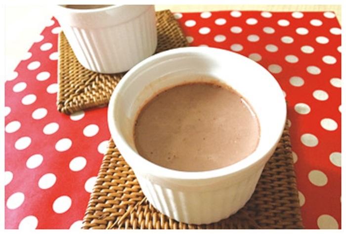 味によっていろいろな飲み方ができるのも『セノビック』の特長です。いちごミルク味や、バナナ味はスイーツに。ポタージュ味は料理にも応用できるので、子どもと一緒にレシピを考えるのも楽しそう。また、ミルクココア味は、本物のココアパウダーを贅沢に使用するなど、素材にもこだわりがあるようです。